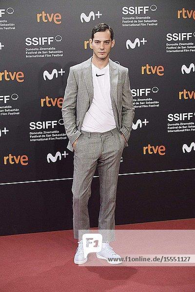 Joel Bosqued attended 'La inocencia' Premiere during 67th San Sebastian Film Festival at Kursaal Palace on September 23  2019 in San Sebastian  Spain