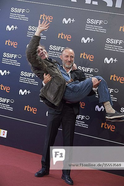 Michel Houellebecq attended 'Thalasso' Premiere during 67th San Sebastian Film Festival at Kursaal Palace on September 25  2019 in San Sebastian  Spain