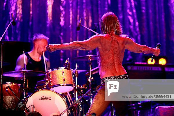 Iggy Pop at the Madcool Festival Madrid concert.July 11  2019