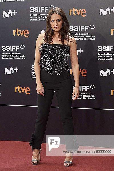 Itziar Ituno attended 'The Song of Names' Premiere during 67th San Sebastian Film Festival at Kursaal Palace on September 28  2019 in San Sebastian  Spain