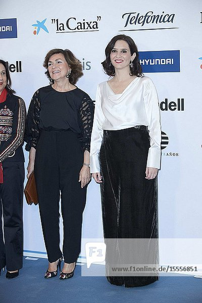 Isabel Diaz Ayuso attends the Commemoration of the 30th anniversary of 'El Mundo' newspaper at Hotel Palace on October 1  2019 in Madrid  Spain