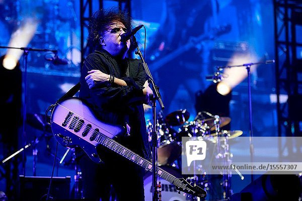 The Cure at the Madcool Festival Madrid concert.July 13  2019
