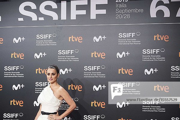 Penelope Cruz attended 'Wasp Network' Premiere during 67th San Sebastian Film Festival at Kursaal Palace on September 27  2019 in San Sebastian  Spain