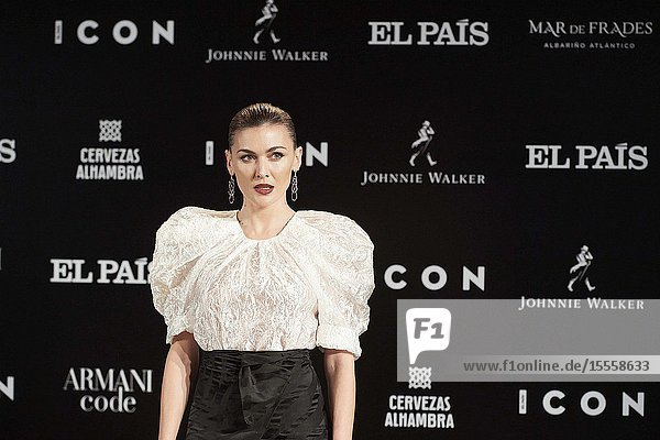 Marta Nieto attends ICON Awards 2019 at Real Fabrica de Tapices on October 9  2019 in Madrid  Spain