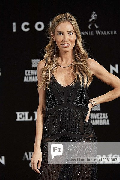 Marta Carriedo attends ICON Awards 2019 at Real Fabrica de Tapices on October 9  2019 in Madrid  Spain