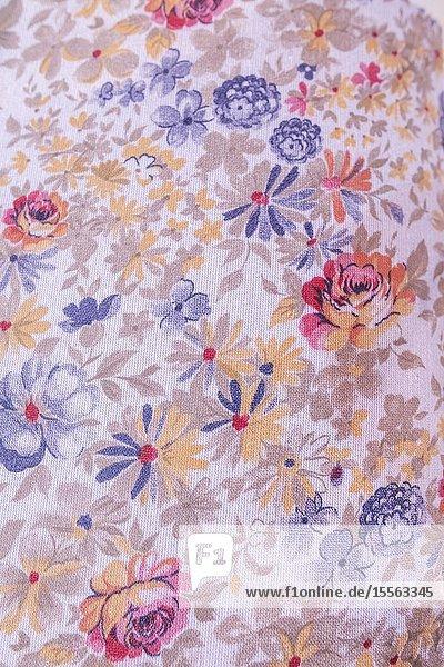 Fabric design  19th century  Palekh  Ivanovo region  Russia.
