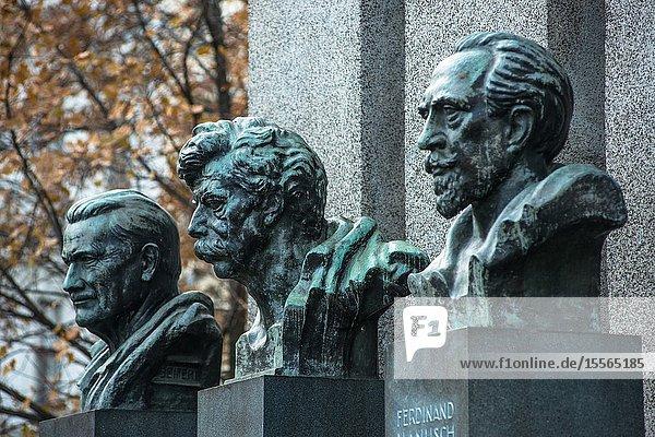 Errichtung der Republik Memorial  Vienna  Austria.