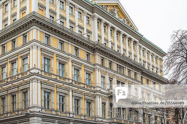 Imperial Hotel   Innere Stadt  Vienna  Austria.