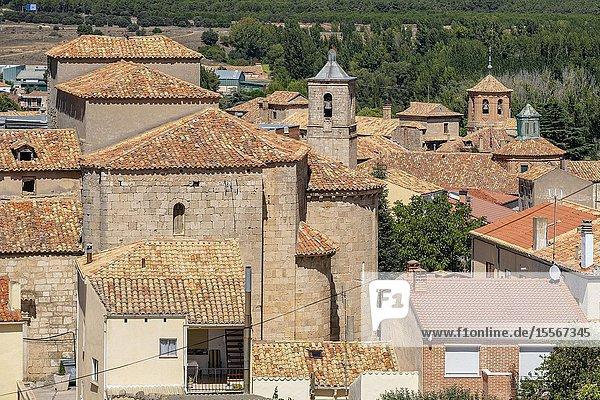 Iglesia de Nuestra Señora del Campanario  Almazán  Soria province  Comunidad autónoma de Castilla y León  Spain  Europe.