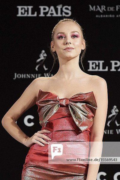 Ester Exposito attends ICON Awards 2019 at Real Fabrica de Tapices on October 9  2019 in Madrid  Spain