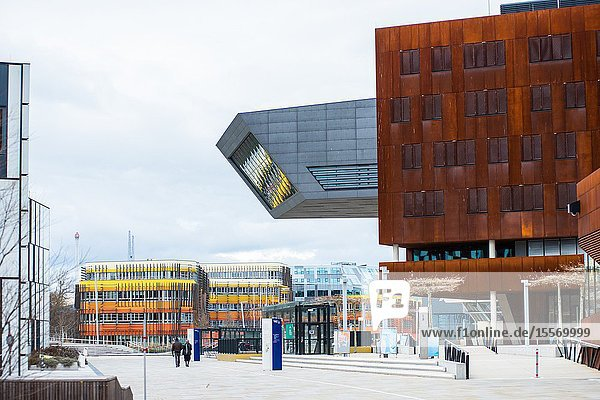 WU Campus Vienna  Vienna University of Economics and Business  LC  Library and Learning Centre  Austria