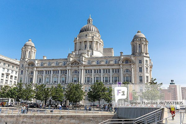 UK Liverpool  Port of Liverpool Building.