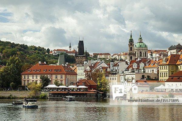 Mala Strana in Prague  Czechia.