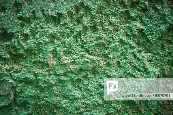 Detail of wall texture and colour in Essaouira  Morocco  Africa.