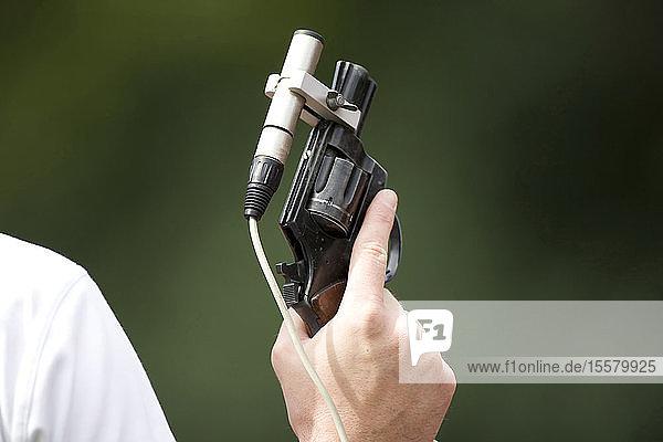 Starter-Haltepistole
