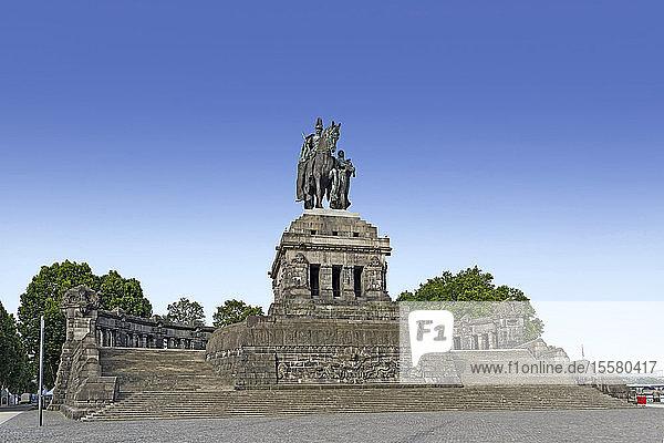 Deutschland  Koblenz  Kaiser-Wilhelm-Denkmal