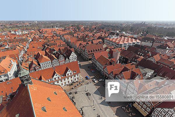 Deutschland  Niedersachsen  Celle  Stadtansicht