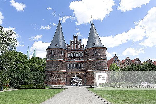 Deutschland  Lübeck  Holstentor