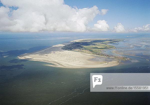 Deutschland  Schleswig-Holstein  Blick auf die Insel Amrum