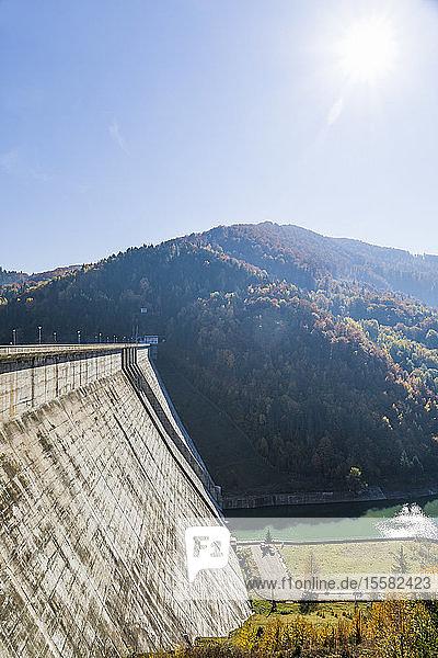 Rumänien  Transsylvanien  Vidraru-Damm