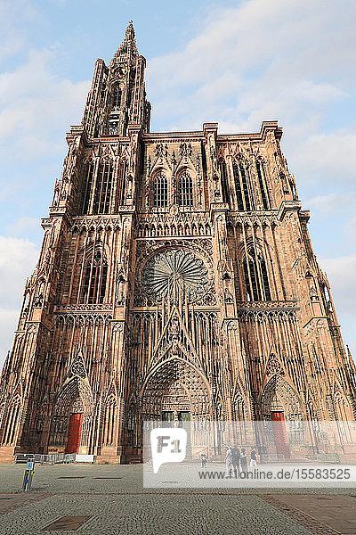 Frankreich  Elsass  Straßburg  Straßburger Münster