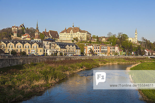 River by Sighisoara  Romania