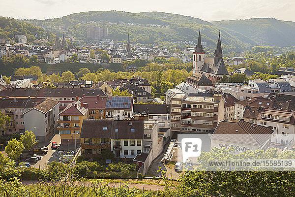 Townscape of Bingen  Germany