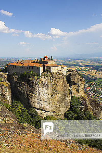 Holy Monastery of St. Stephen  Meteora  UNESCO World Heritage Site  Thessaly  Greece