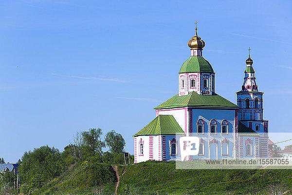 Church of Elijah the Prophet (Ilyi Proroka)  Suzdal  Vladimir Oblast  Russia