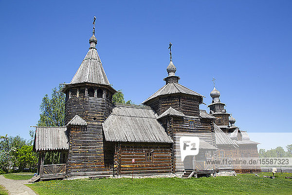 Museum of Wooden Architecture  Suzdal  Vladimir Oblast  Russia