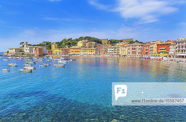 Bay of Silence  Sestri Levante  Liguria  Italy