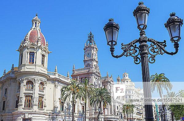 City Hall  Valencia  Comunidad Autonoma de Valencia  Spain