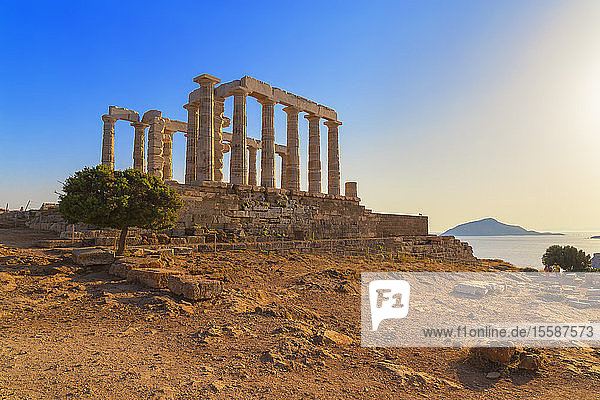Temple of Poseidon  Cape Sounion  Attica  Greece