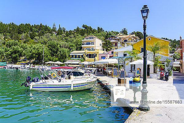 Lakka  Paxos  Ionian Islands  Greek Islands  Greece