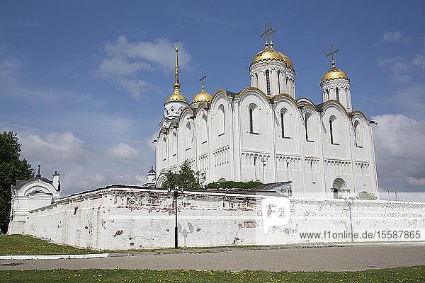 Assumption Cathedral  UNESCO World Heritage Site  Vladimir  Russia