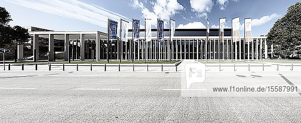 Panoramic view of RheinMain CongressCenter  Wiesbaden  Germany