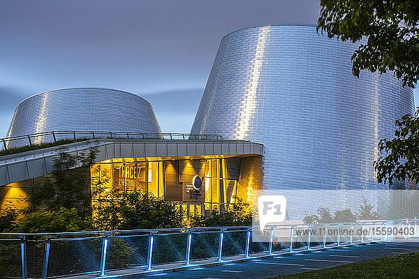 Rio Tinto Alcan Planetarium; Montreal  Quebec  Canada
