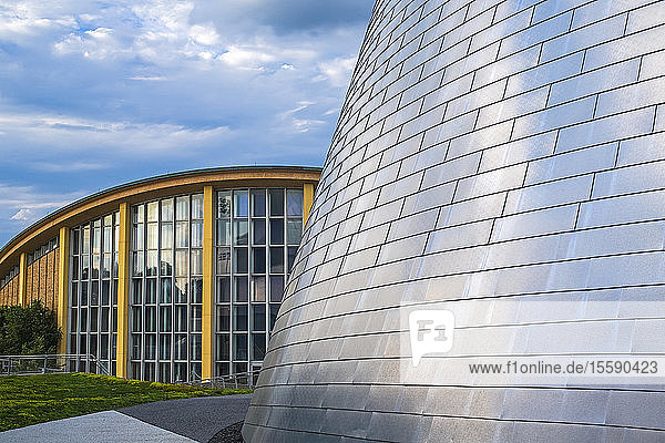 Rio Tinto Alcan Planetarium and Centre Pierre Charbonneau; Montreal  Quebec  Canada