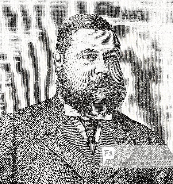 Henry Wellesley,  3rd Duke of Wellington,  1846 – 1900. British peer and Conservative Party politician. From The Strand Magazine,  published January to June,  1894.