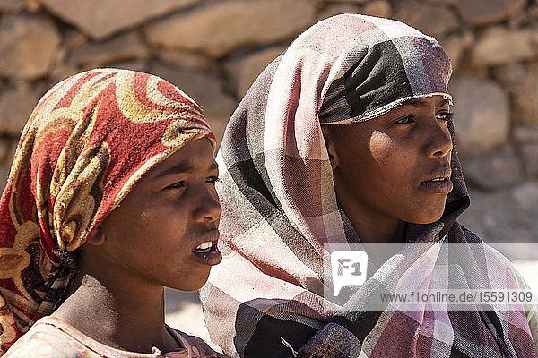 Sudanese girls; Al Ghazali,  Northern State,  Sudan