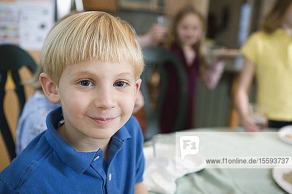 Portrait of a cute boy.