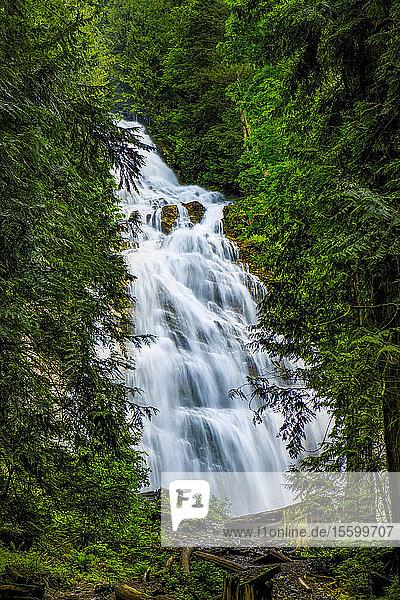 Bridal Veil Falls  Bridal Veil Falls Provincial Park; British Columbia  Canada