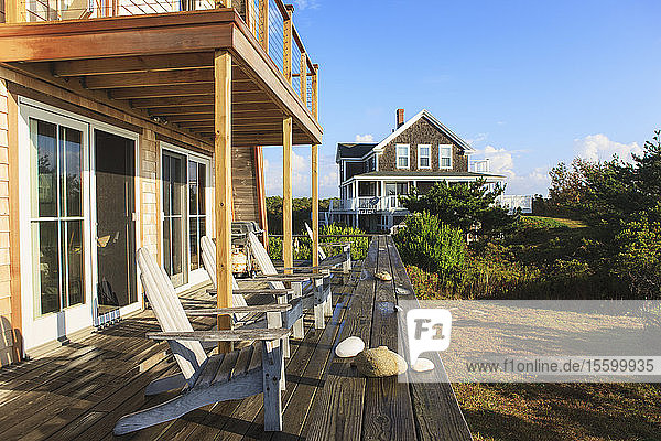 Vacation homes on Block Island  Rhode Island  USA