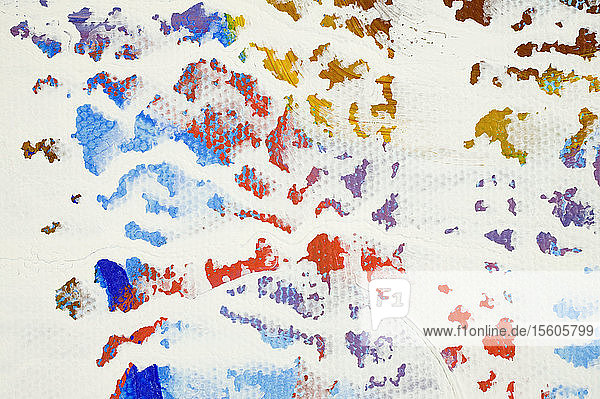 Close-up of an abstract pattern on a white background