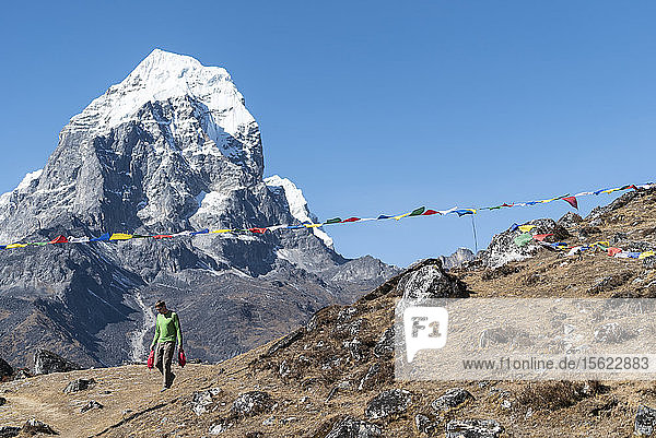Peter Doucette  Ama Dablam Expedition  Khumbu  Nepal