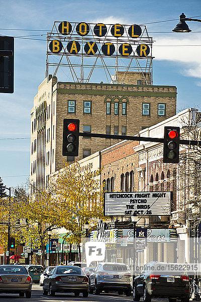 The Hotel Bozeman and W. Main St. in Bozeman  Montana.