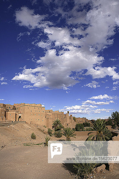 Quarzazate Kasbah Taourirt in Morocco