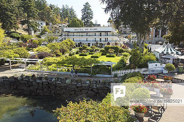 Hotel De Haro In Roche Harbor On San Juan Island  Washington