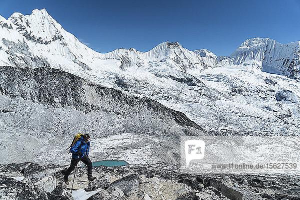 Peter Doucette  Ama Dablam Expedition  Khumbu  Nepal