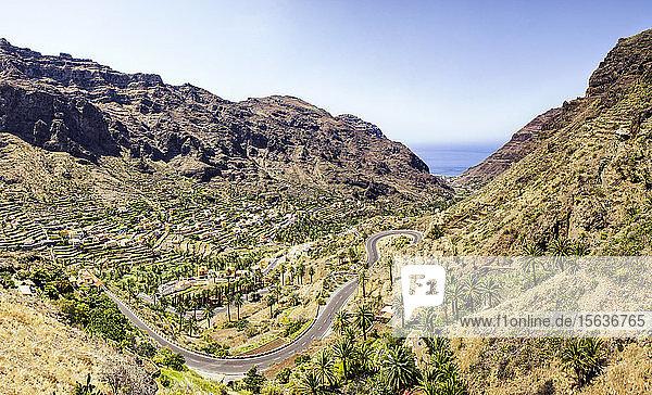 Valle Gran Grey  La Gomera  Kanarische Inseln  Spanien